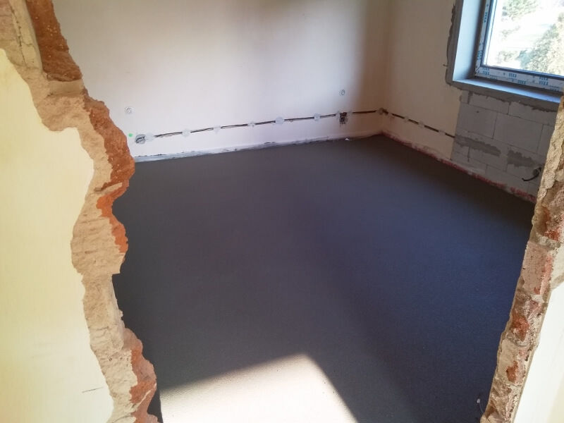 strojově hlazené betonové podlahy